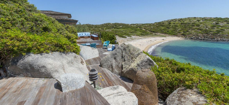 Villa e proprietà in affitto e in vendita, Isola di Cavallo, Corisca, Bonifacio, Mar Mediterraneo
